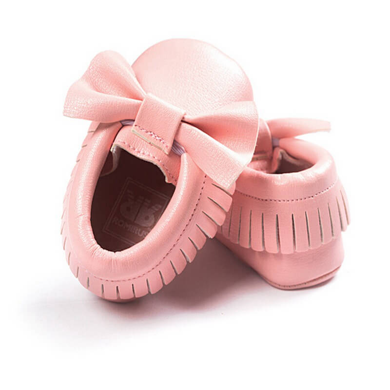 big bow pink baby shoes baby boutique shop