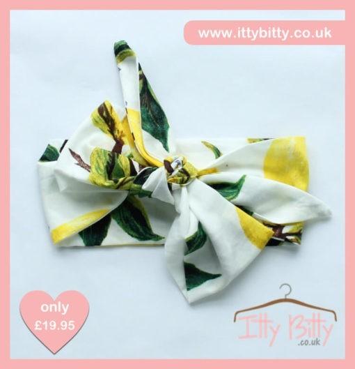 Itty Bitty 3 Piece Vintage Floral Set -Headband