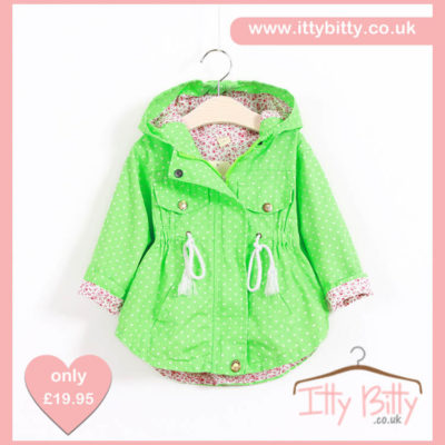 Itty Bitty Green Summer Jacket