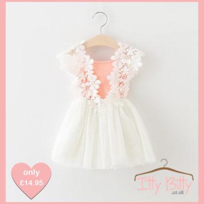 Itty Bitty Flower Power Dress