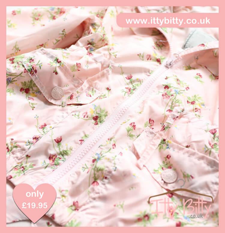 Itty Bitty Pink Rain Jacket
