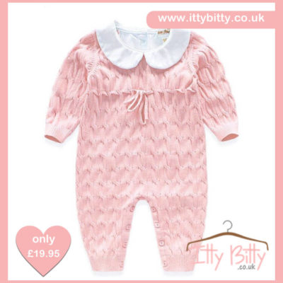 Itty Bitty Pink Spanish Romper