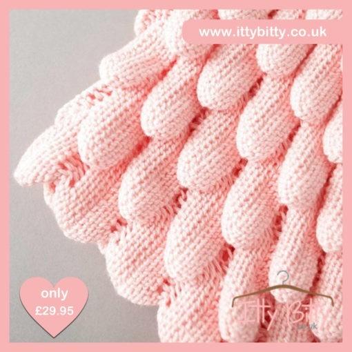 Itty Bitty Pink Petal Knitted Sweater 5