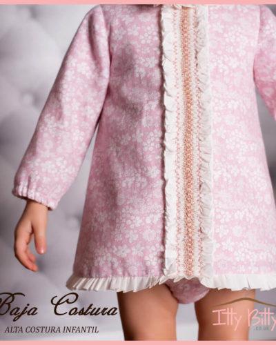 Itty Bitty Premium Spanish Boutique Pink 3 Piece Set