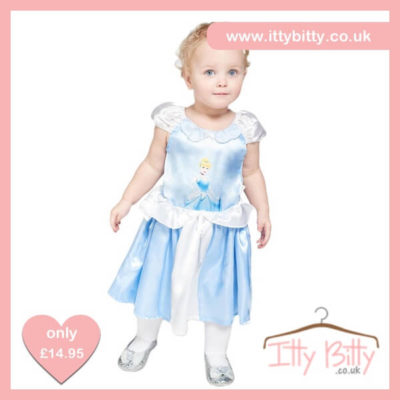 Itty Bitty Disney Cinderella Baby Costume