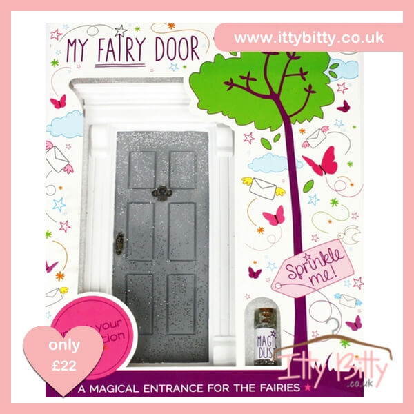 Itty Bitty Christmas Silver Sparkly Magic Door – Baby Boutique Clothing f166eb1a24db