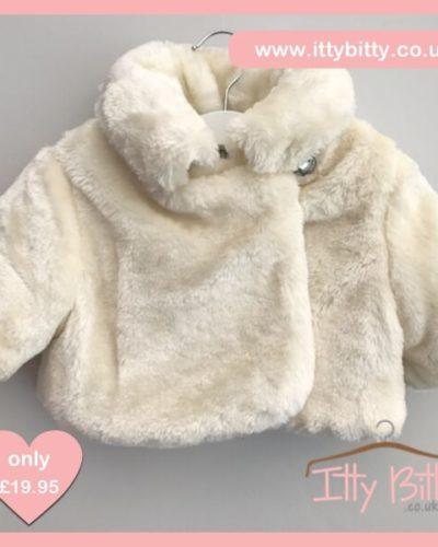 Itty Bitty Short Faux Fur Coat