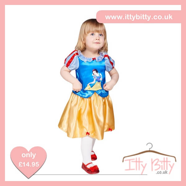 Itty Bitty Disney Snow White Baby Costume