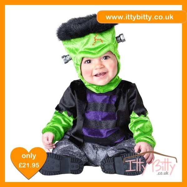 Itty Bitty Halloween Frankenstein Monster Costume