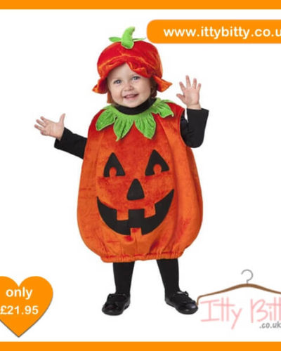 Itty Bitty Halloween Little Pumpkin girls Costume