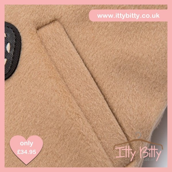 Itty Bitty VIP Christmas Gingerbread Coat