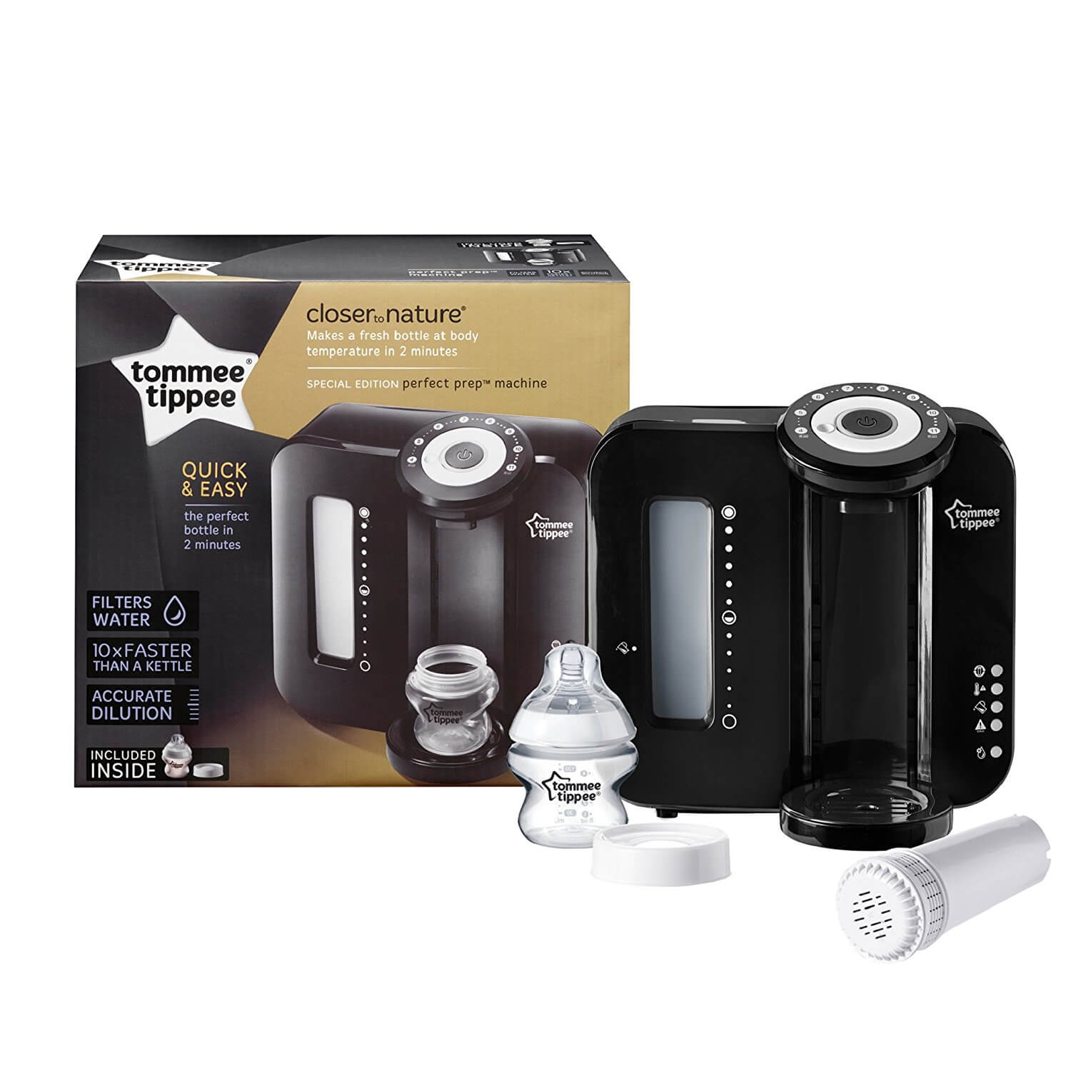 tommee tippee closer to nature perfect prep machine. Black Bedroom Furniture Sets. Home Design Ideas