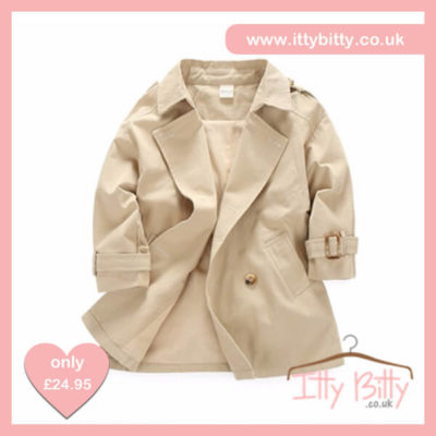 Itty Bitty VIP New York Trench Coat