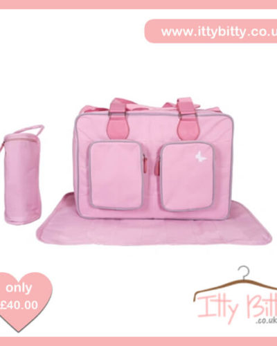 My Babiie Katie Piper Pink Deluxe Baby Changing Bag