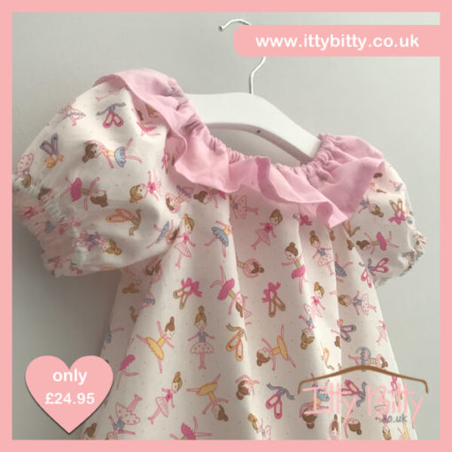 Itty Bitty Handmade Darcie Ballerina Dress