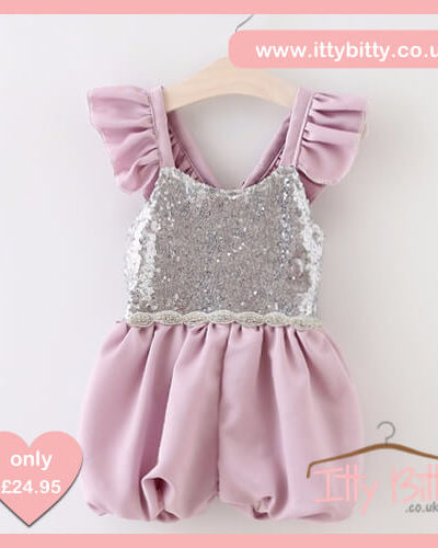 Itty Bitty Sequin Sophie Romper