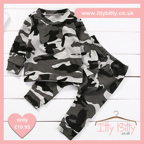 Itty Bitty Camoflage Tracksuit