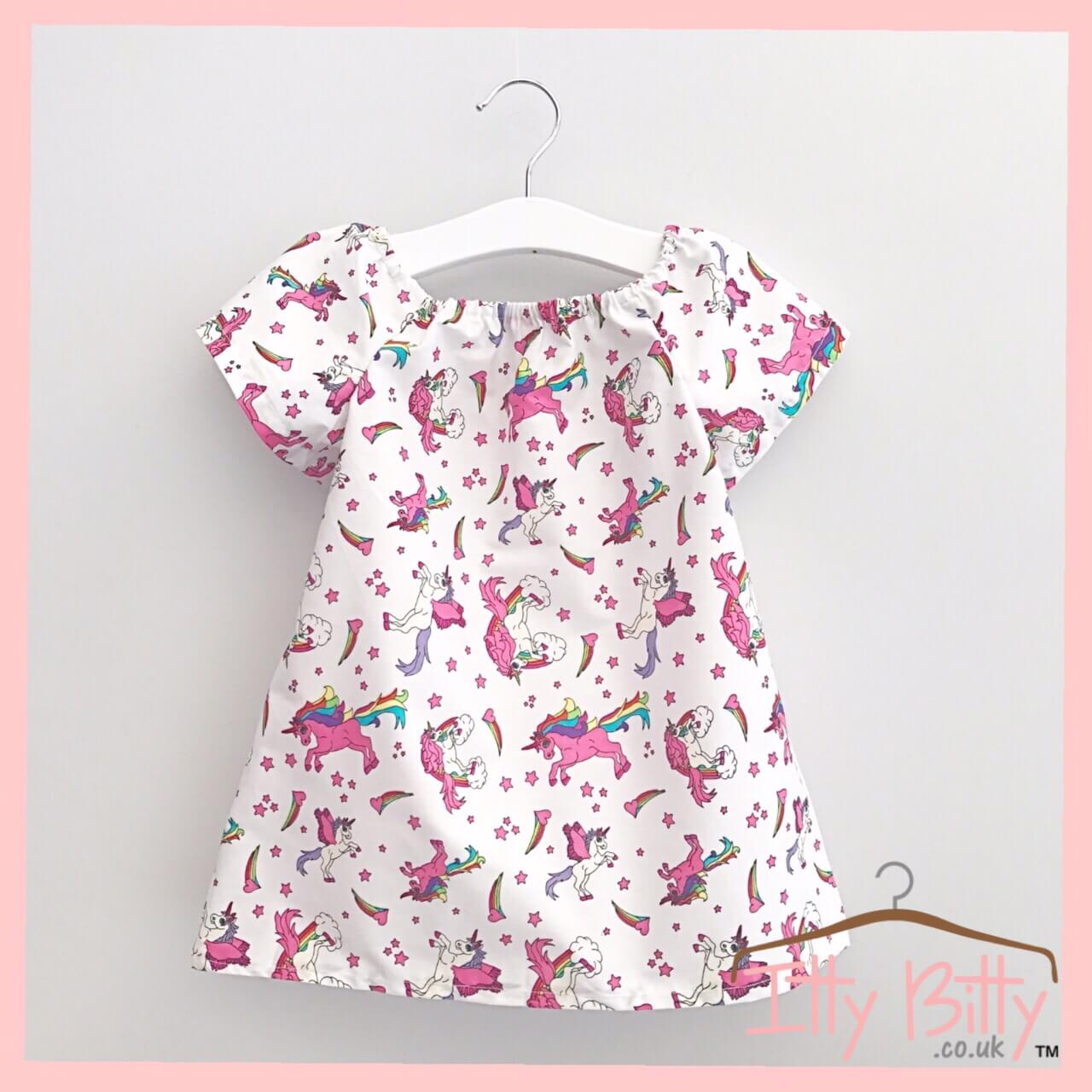 Handmade Unicorn Dress – Baby Boutique Clothing da16e2872