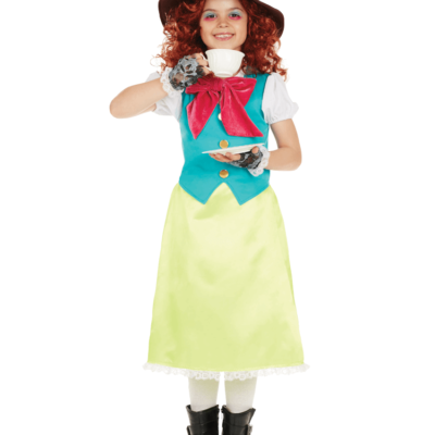 Alice in Wonderland Little Miss Hatter Child Costume
