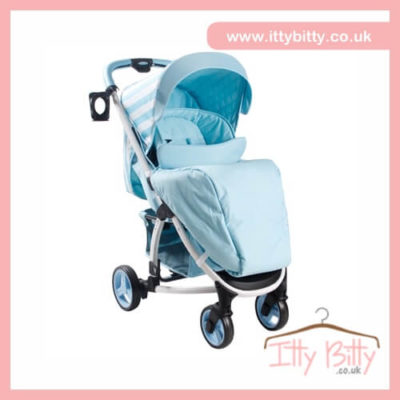 Billie Faiers My Babiie MB100 Blue Stripes Pushchair
