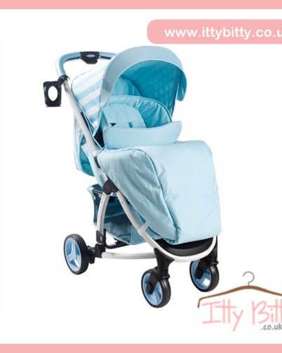 Billie Faiers My Babiie MB100 Blue Stripes Pushchair