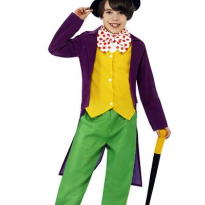 Roald Dahl Willy Wonka Child and Teen Costume