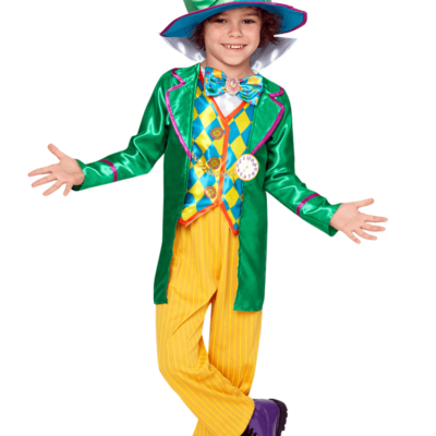 Disney Alice in Wonderland Mad Hatter Boy Child Costume