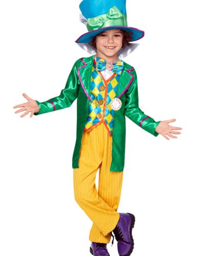Disney Alice in Wonderland Mad Hatter Boy Child Costume