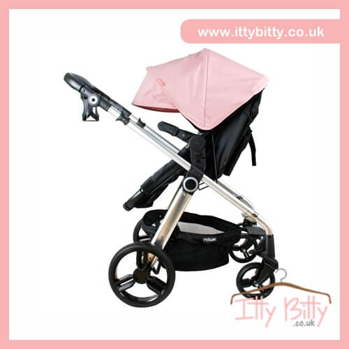 billie faiers my babiie mb150bp baby pink pram baby. Black Bedroom Furniture Sets. Home Design Ideas