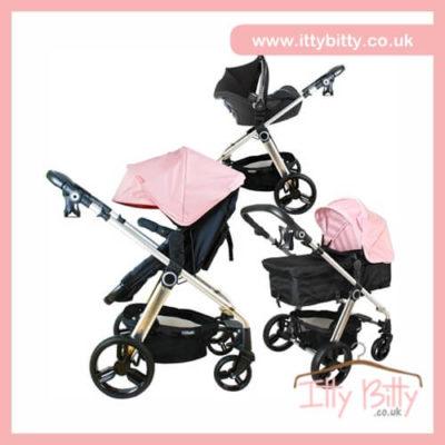 Billie Faiers My Babiie MB150BP Baby Pink Pram