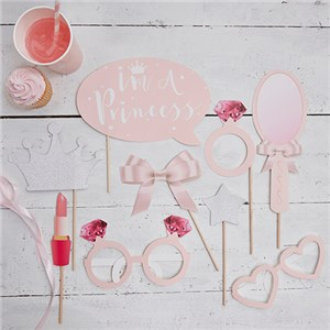 Itty Bitty Party Princess Perfection Photo Booth Props