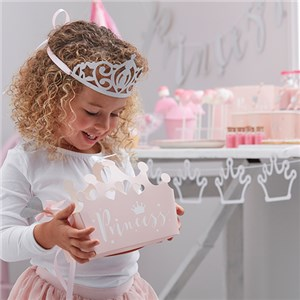 Itty Bitty Party Princess Perfection Shaped Party Boxes