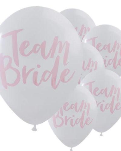 Itty Bitty Team Bride White & Pink Hen Party 12