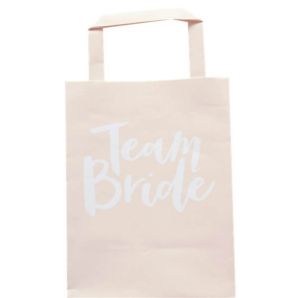 Itty Bitty Team Bride Paper Party Bags