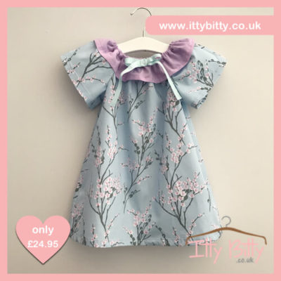 Itty Bitty Handmade Spring Blossom Dress