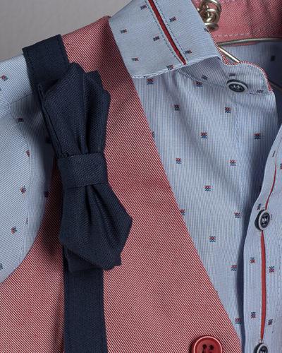 Boys Boutique Blue Indigo Bow Tie