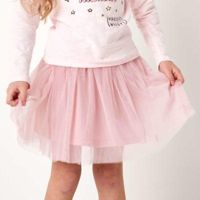 Itty Bitty Pink Girls Skirt