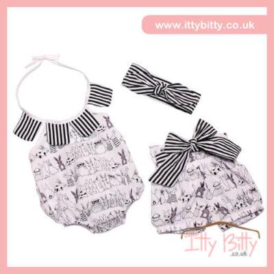 Itty Bitty Bunny 3 Piece Set