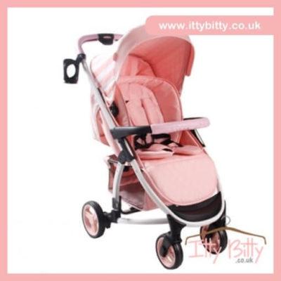 Billie Faiers MB100 Pink Stripes Pushchair