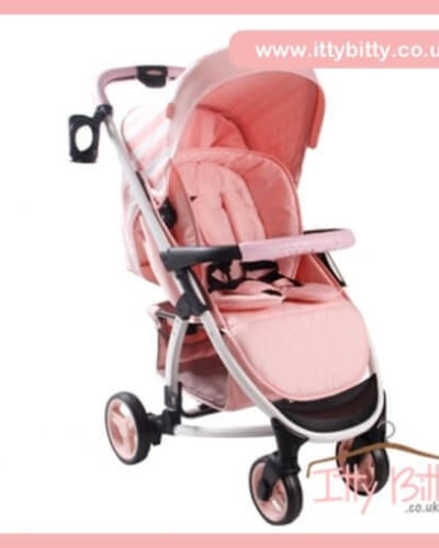 Billie Faiers MB100 Pink Stripes Pushchair