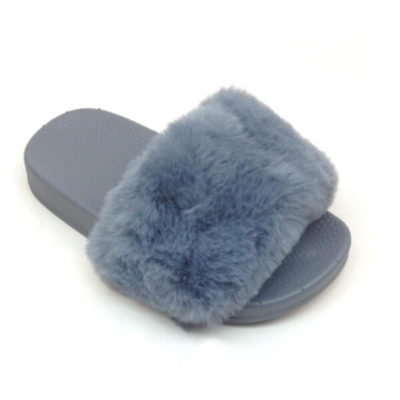 Itty Bitty Grey Fluffy Sliders