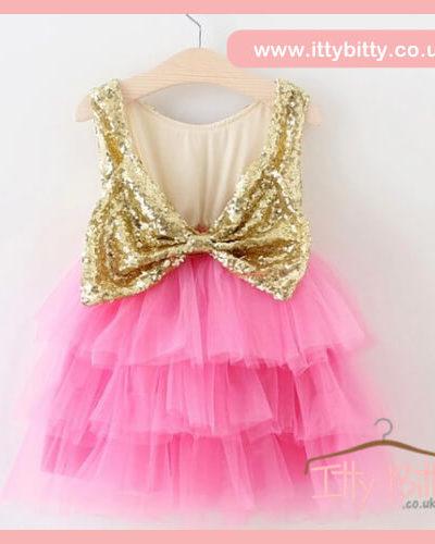 Itty Bitty Tink Bow Dress