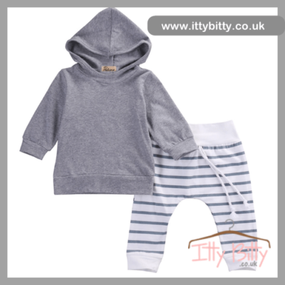 Itty Bitty Stripe Lazy days set