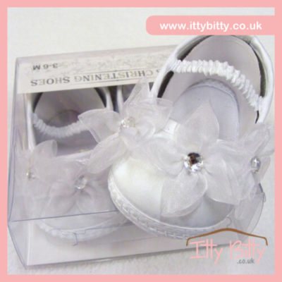ITTY BITTY CHRISTENING SHOES