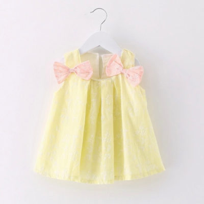 ITTY BITTY SUMMER BOW DRESS