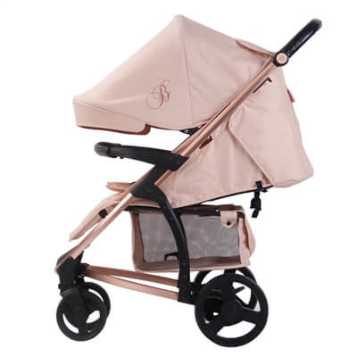 My Babiie Billie Faiers Billie Faiers MB200 Rose Gold and Blush Pink Stroller Pushchair Buggy