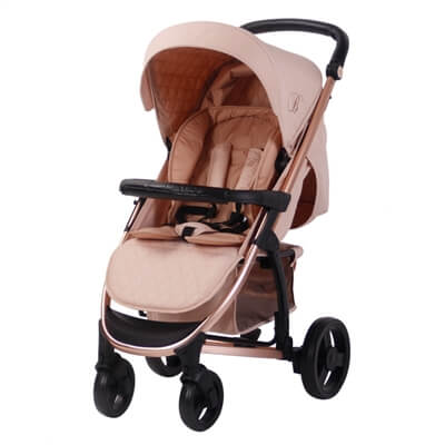 My Babiie Billie Faiers MB200+ Rose Gold and Blush Pink Travel System