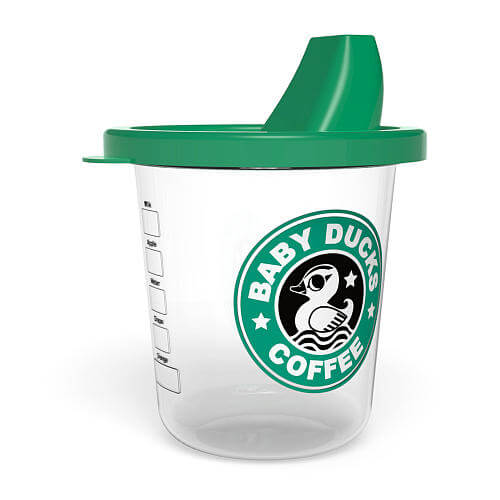 Baby Duck Coffee   Babychino Sippy Cup