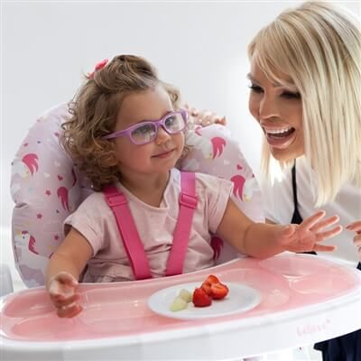 Katie Piper MBHC8UN Pink Unicorns Premium Highchair