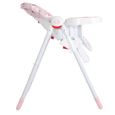 Katie Piper MBHC8UN Pink Unicorns Premium Highchair